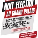 Nuit Electro Techno-Nacht in Paris