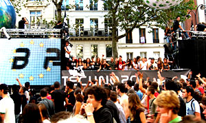 Technoparade in Paris