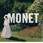 Grosse Claude Monet Ausstellung im Grand Palais, Paris