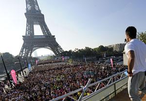 Marthonlauf der Frauen in Paris