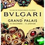 Ausstellung 125 Jahre Bulgari im Grand Palais