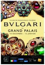Ausstellung 125 Jahre Bulgari im ©Grand Palais Paris