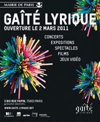 Gaîté Lyrique - neues Kulturzentrum für digitale Musik und Kunst in Paris