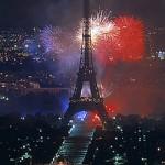 14. Juli französischer Nationalfeiertag in Paris