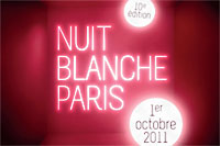 nuit blanche 2011-kunstnacht in Paris