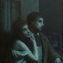 Ausstellung Bohemes Paris, Charles Amable Lenoir, Rêverie, Privatsammlung © Mille - realis