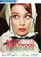 Plakat Ausstellung Paris aus der Sicht von Hollywood
