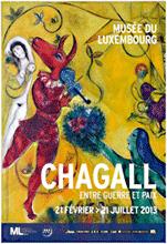 Chagall Ausstellung im Musée du Luxembourg