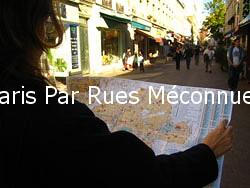 Paris Par Rues Méconnues - unbekanntes Paris entdecken