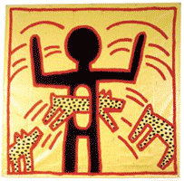 Keith Haring (ohne Titel, 1982) © Keith Haring Foundation