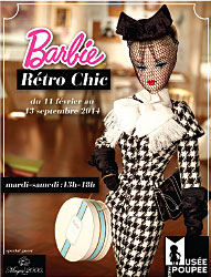 Ausstellung Barbie Rétro-Chic im Puppen-Museum Paris