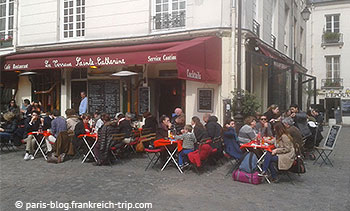 Restaurant Place du Marché Sainte-Catherine Paris