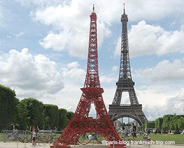 Kleiner Eiffeilturm Kopie Paris