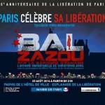 Feier zum 70. Jahrestag der Befreiung von Paris