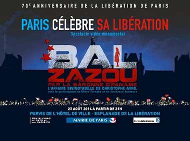 Ball Jahrestag der Befreiung von Paris