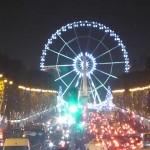 Weihnachtsmarkt und Weihnachtsbeleuchtung 2014 in Paris