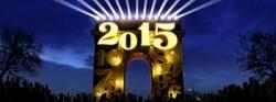 Silvester und Neujahr 2014/15 auf dem Champs Elysées