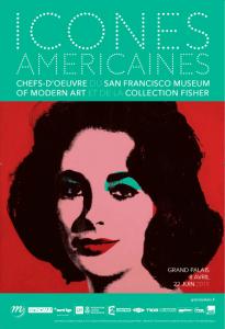 Plakat Icônes américaines Grand Palais