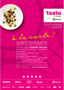 Plakat the taste of Paris