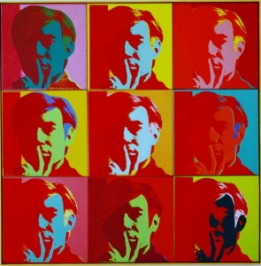 Andy Warhol self-portrait © The Andy Warhol Foundation