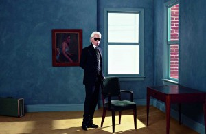 Karl Lagerfeld Selbst-Porträt