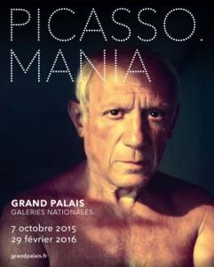 Plakat picasso.mania Grand Palais Paris