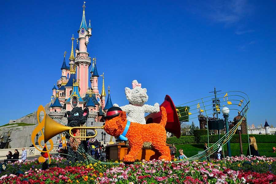 Fruehling Im Disneyland Paris