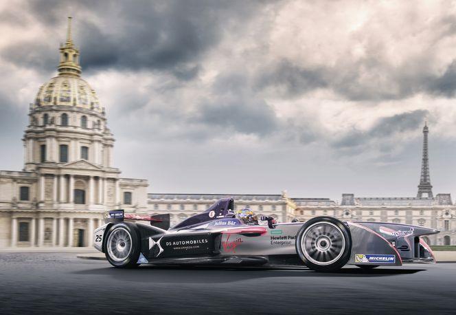 Formel E Rennen in Paris