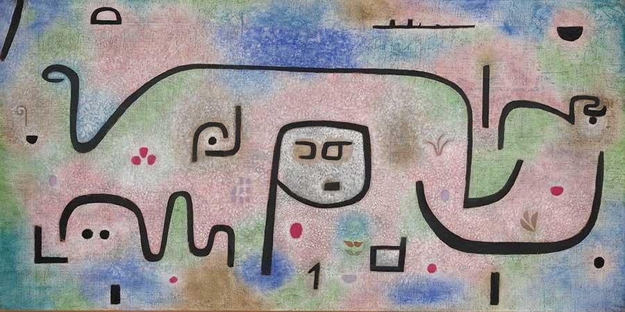 Ausstellung Paul Klee im Centre Pompidou