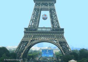 EM 2016 Paris Eiffelturm