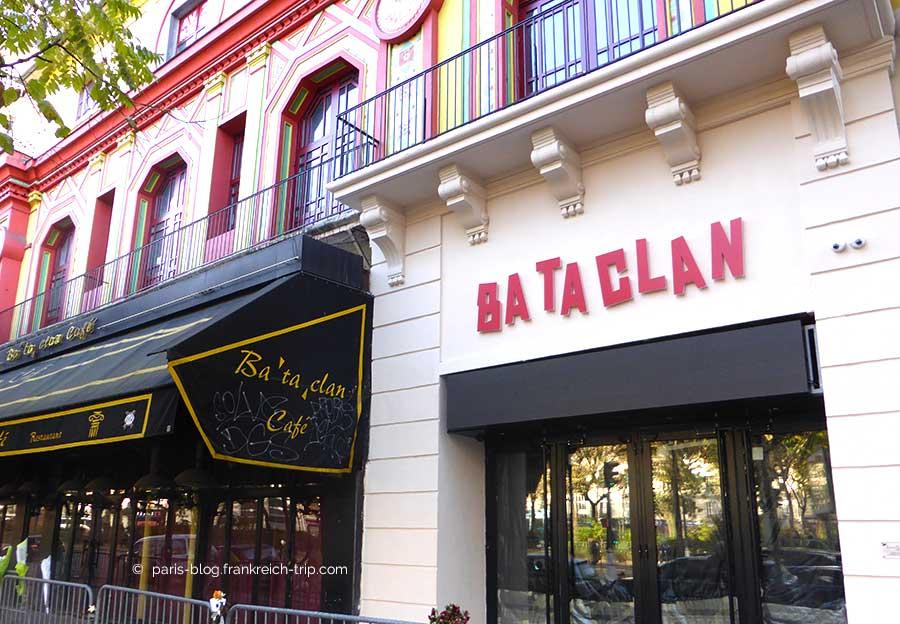 Wiedereröffnung des BATACLAN
