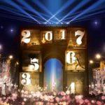 Silvester / Neujahr 2016/17 auf dem Champs Elysées