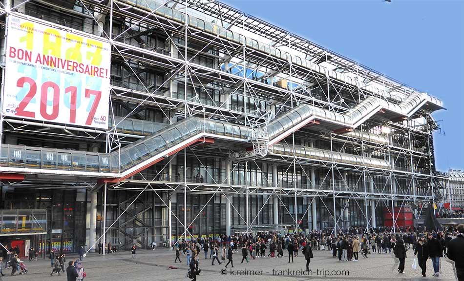 40 Jahre Centre Pompidou