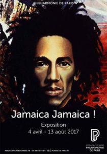 Plakat Ausstellung Jamaika Jamaika paris