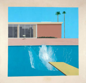 A Bigger Splash, 1967 © David Hockney Collection Tate, London