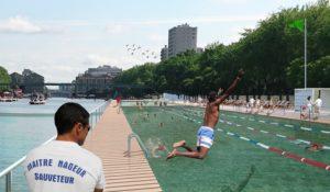 Schwimmbad Bassin-de-la-Villette