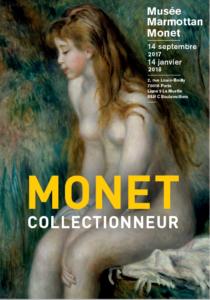 Plakat Ausstellung Monet Collectionneur
