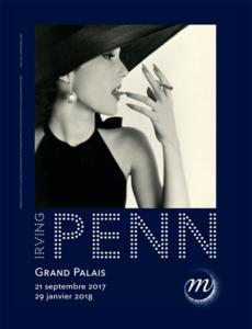 Plakat Irving Penn im Grand Palais