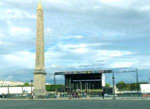 Konzert Place de la Concorde Sept 2017