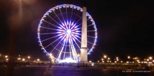 Riesenrad Place de la Concorde Paris Weihnachten 2017