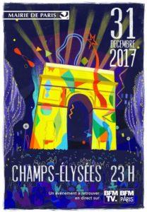 Plakat Silvester 2017 Paris
