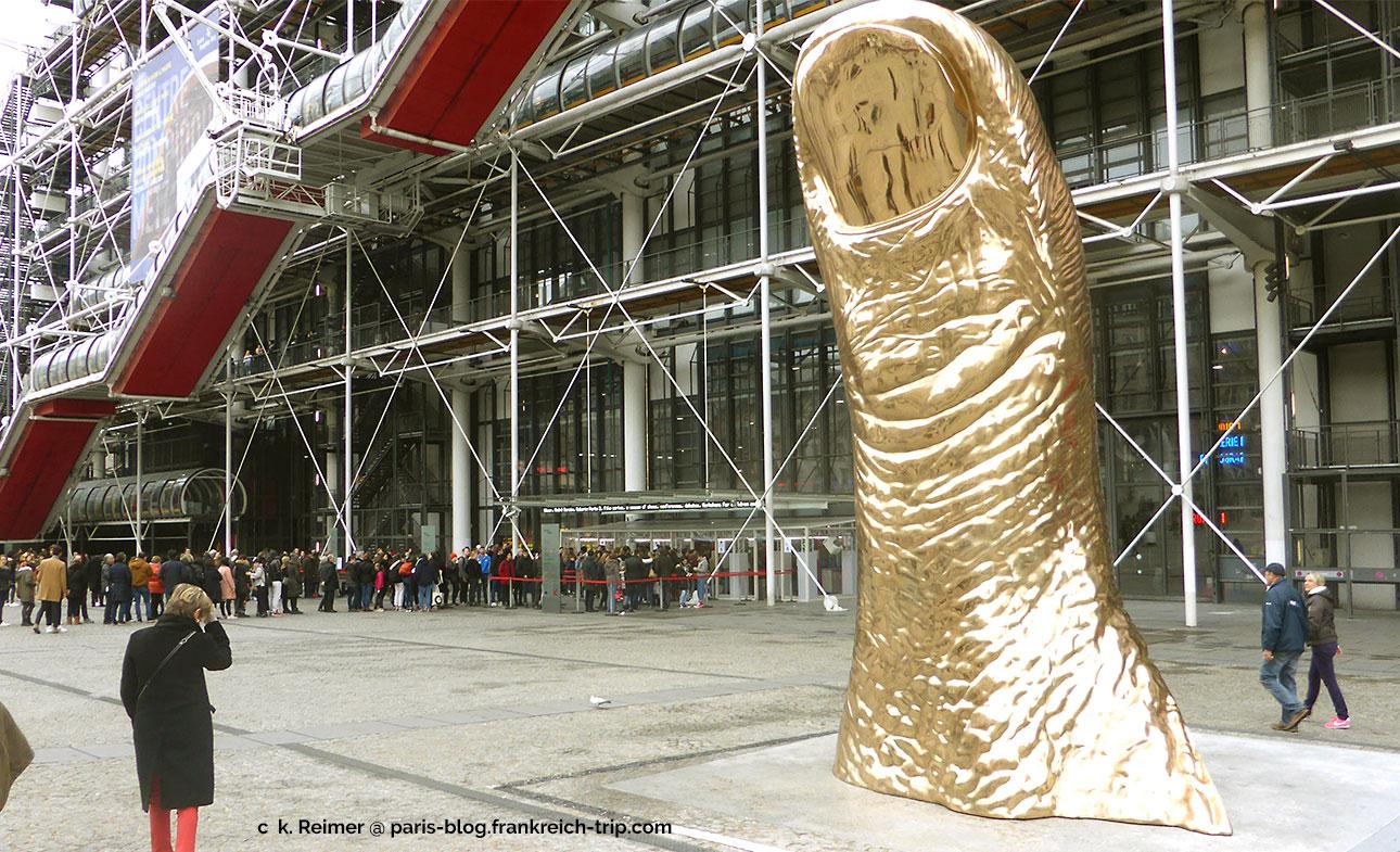 Ausstellung César im Centre Pompidou