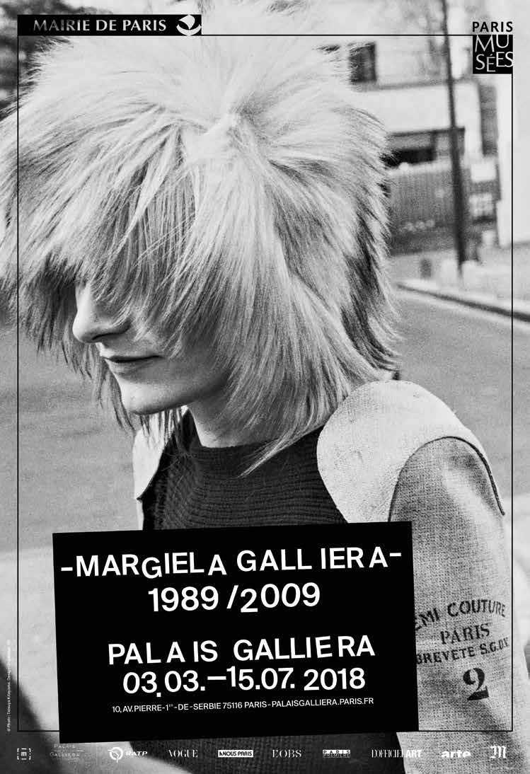 Ausstellungen des Modemachers Martin Margiela 2018