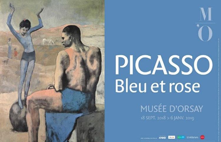 """Ausstellung Picasso """"Blau und Rosa"""" im Musée d'Orsay"""