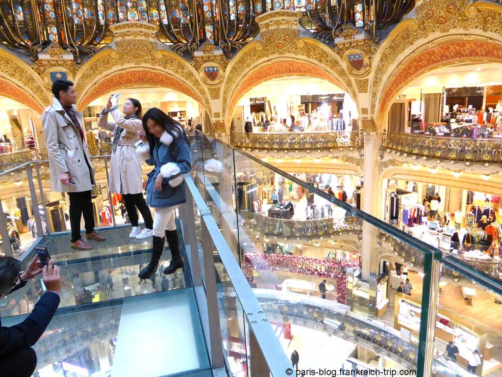 Glasswalk Galeries Lafayette Paris