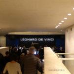 Eingang Da Vinci Ausstellung
