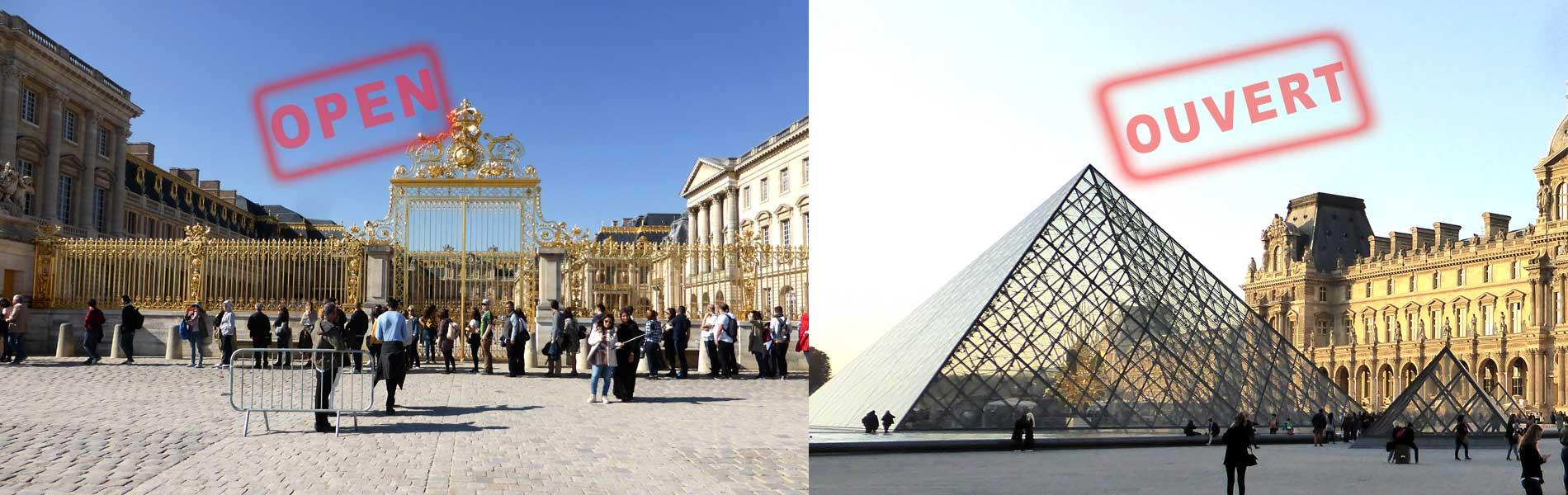 Paris Sehenswürdigkeiten eröffnen wieder