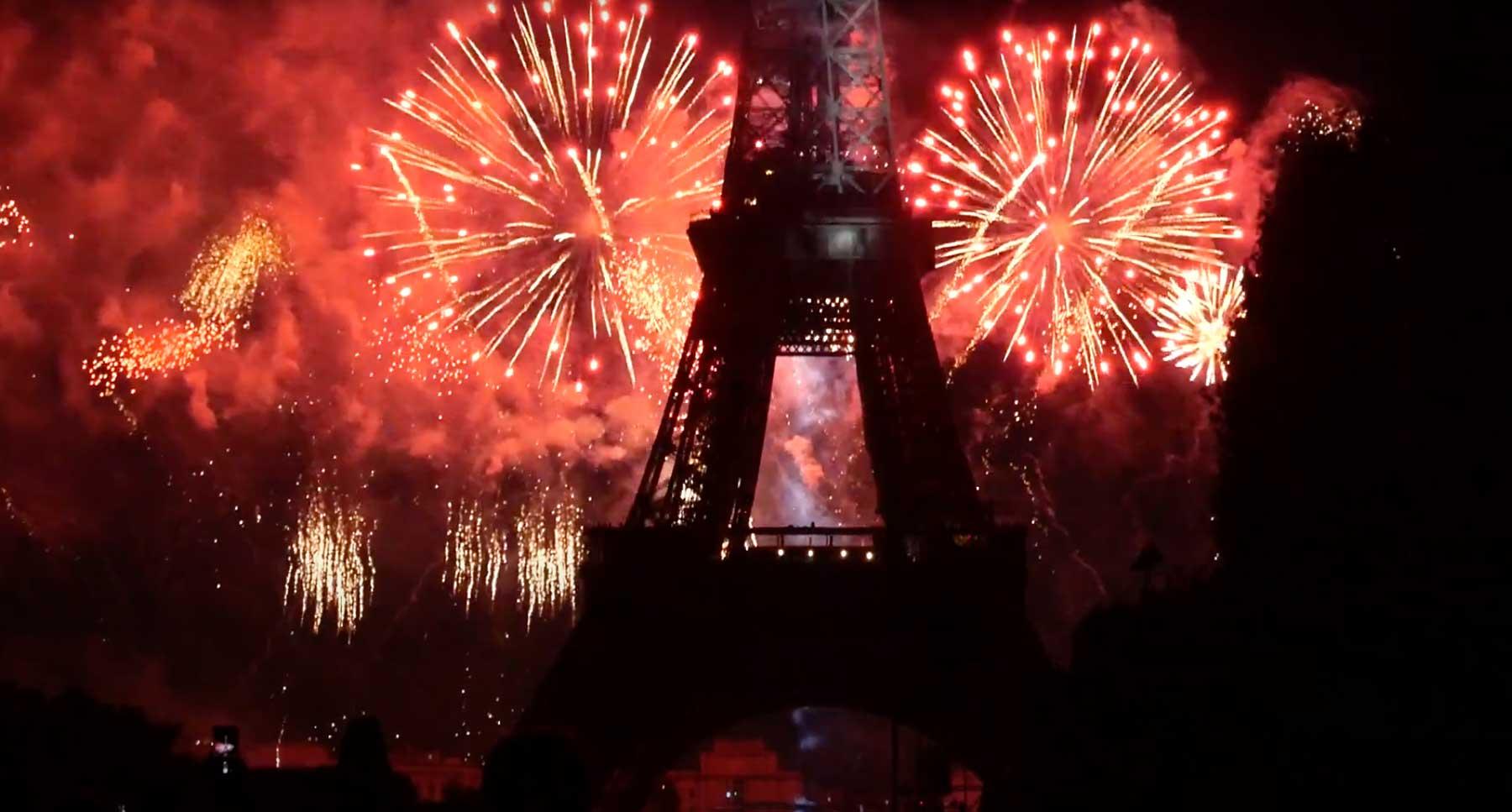 Feuerwerk Eiffelturm (2019)