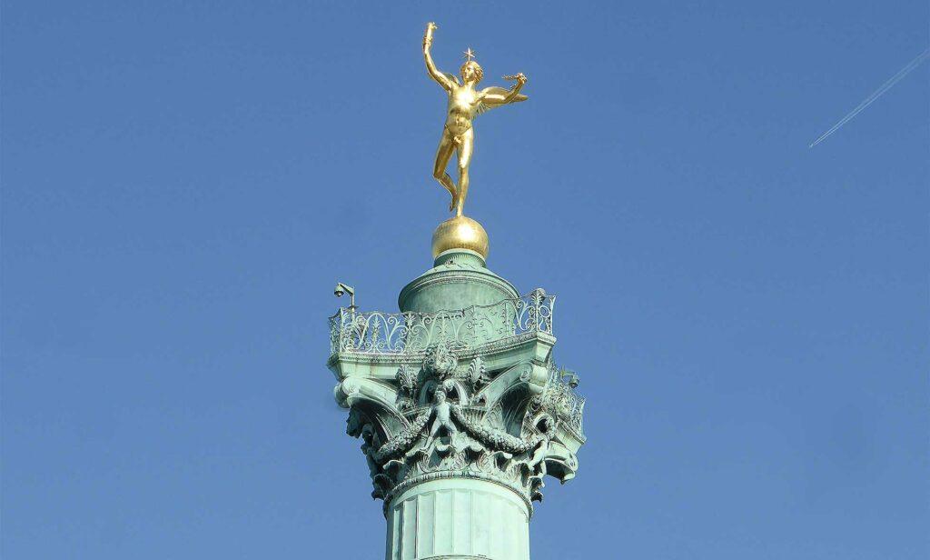 Bastille Paris Ende lockdown
