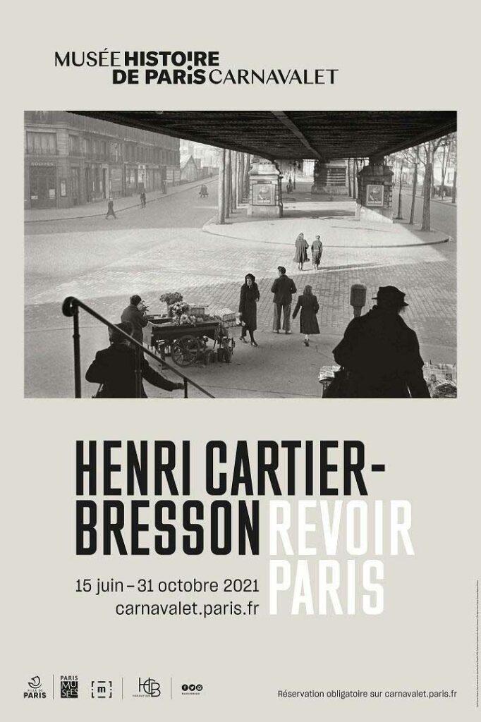 Plakat Ausstellung Henri Cartier Bresson Museum Carnavalet